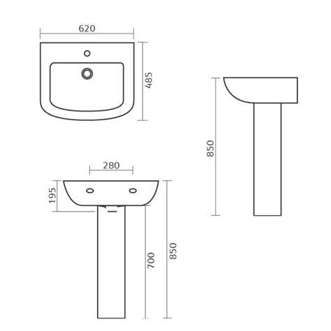 Amazing Bathroom Sink Sizes Befon For Intended Standard