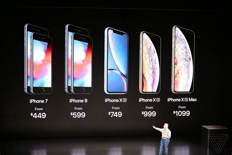 iphone xs starts at 999 xs max at 1 099 pre orders