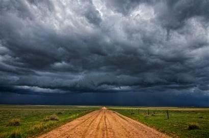 Clouds Rain Storm Cloud Landscape Nature Field