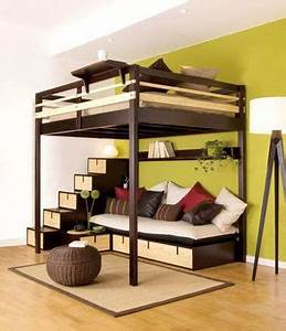 a multi purpose living cube that fits life into 100 square With bunk beds for toddlers for multi purpose consideration