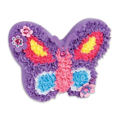 plush craft pillow plush craft butterfly pillow craft kit educational
