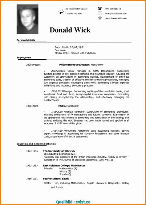 Cv Uk by Komplex Cv Format Uk Format Resume Beautiful Cv
