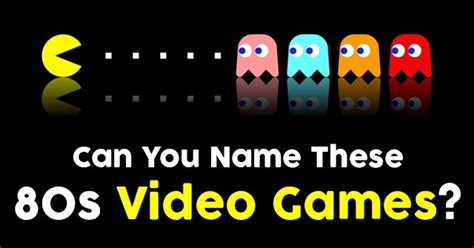 Can You Name These 80s Video Games? | QuizPug