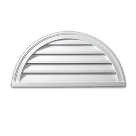 Decorative Gable Vents Canada by Fypon 22 Inch X 11 Inch X 2 Inch Polyurethane Decorative