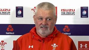 Warren Gatland Pre-Match Press Conference - England v ...