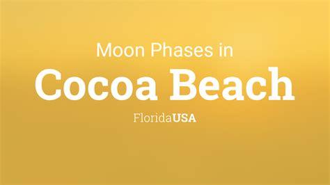 moon phases  lunar calendar  cocoa beach florida