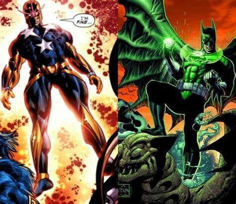 captain steve rogers vs green lantern batman battles comic vine
