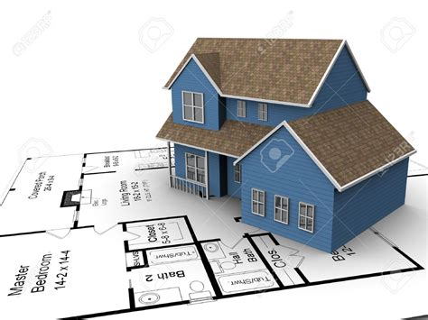 build a home 3720226 build house on a set of building plans stock