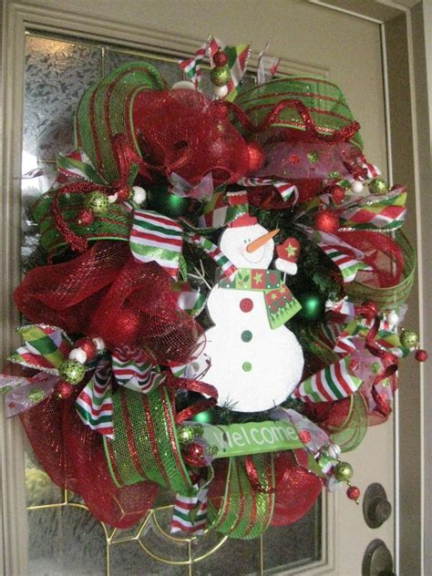 how to make mesh garland with lights christmas rubies in my treasure box beautiful christmas