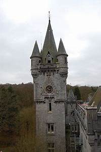 Clock Tower at Miranda Castle (French: Château Miranda ...