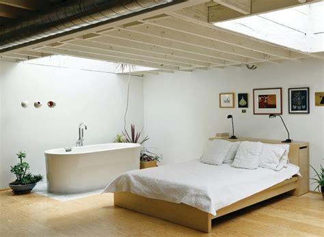 chambre baignoire salle de bain dans chambre une tendance élégante et pratique