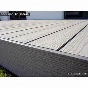 Lame De Terrasse Composite : terrasse bois composite garantie 25 ans ~ Edinachiropracticcenter.com Idées de Décoration