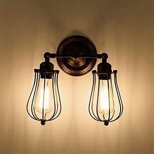 Schlafzimmer Lampen Landhausstil : wandlampe retro verstellbar metall wandlampe antik wandleuchte vintage lampen landhausstil f r ~ Indierocktalk.com Haus und Dekorationen