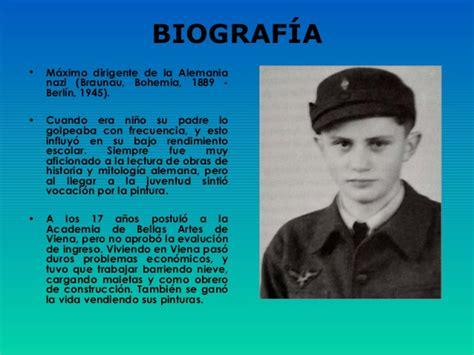Adolf Resumen Vida by Biograf 237 A Y Mussolini