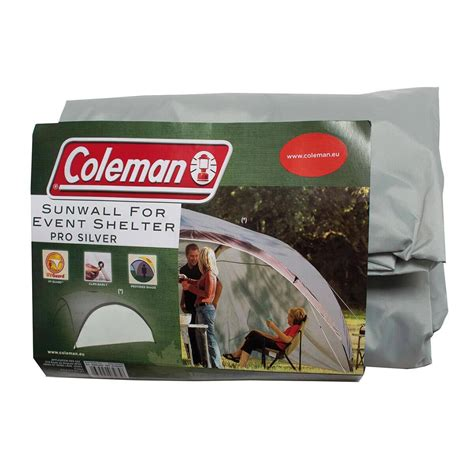 coleman event shelter pro xl sunwall silver
