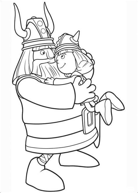 Drakenpoot Kleurplaat by M 229 Larbilder Vicke Viking 1 M 229 Larbilder Viking