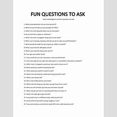68 Fun Questions To Ask  Spark Engaging Conversations