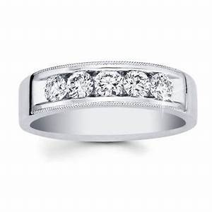 costco men39s diamond ring 095ctw 14kt white gold With costco wedding rings men