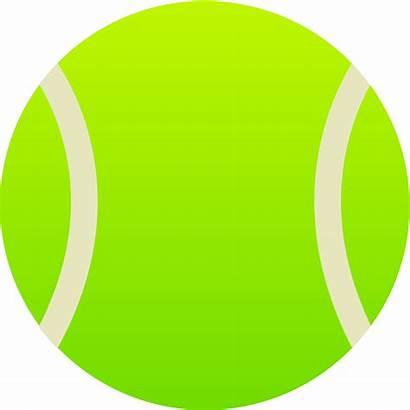 Tennis Ball Balls Clipart Clip Cartoon Sports