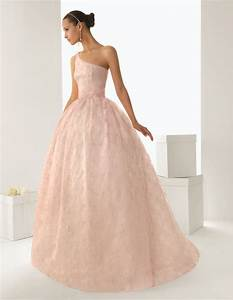 3 blush colored rosa clara wedding dresses looks wonderful With blush wedding dress for sale