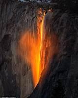 firefall phenomenon shines bright yosemite national