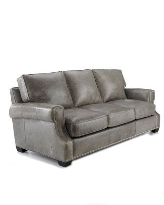 Gray Leather Loveseat by Best 25 Grey Leather Sofa Ideas On