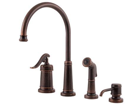 Pfister Ashfield Vessel Faucet by Pfister Ashfield 1 Handle Kitchen Faucet Rustic Bronze
