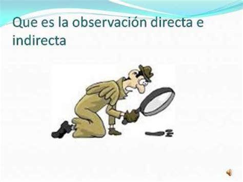 Es también llamada democracia representativa. Que es la Observacion Directa e Indirecta - YouTube