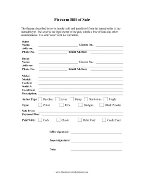 firearm forms canada firearm bill of sale form free download aashe