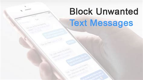 how to stop spam emails on iphone how to block text messages on iphone iphoneheat