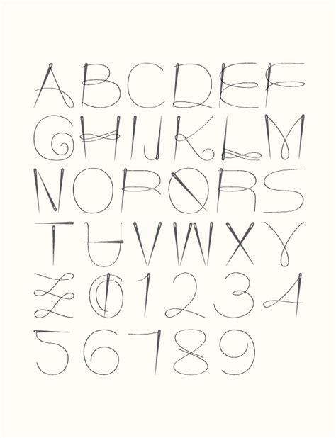 Needles And Thread  Typography + Design Pinterest