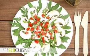 Schnelles Abendessen Für Gäste : champignon carpaccio auf rucolabettelbcuisine ~ Markanthonyermac.com Haus und Dekorationen