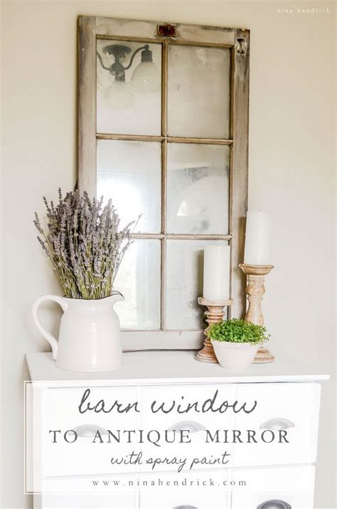 window pane decor barn window mirror best diy ideas home decor