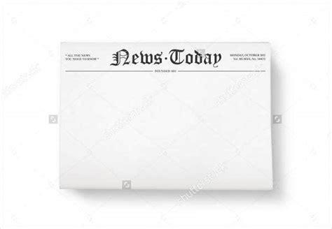 printable newspaper templates  premium templates