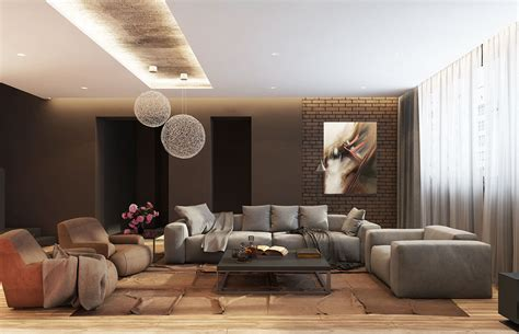 Large Living Room Decorating Ideas Brings A Modern And