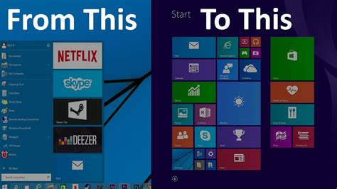 How To Switch From The Modern Start Menu To