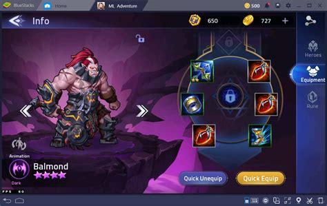 mobile legends adventure level  upgrade  heroes