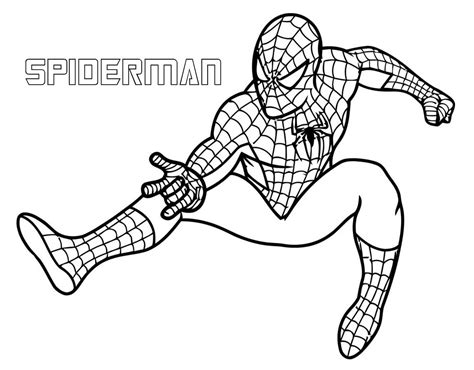 printable superhero coloring pages coloring pages