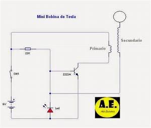 As U00edn Electr U00f3nica  Bobinas De Tesla