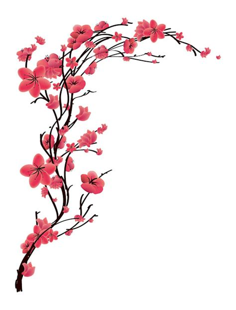 japanese cherry blossom design cherry blossom design clipart best