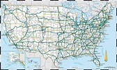 Us Maps With States And Cities And Highways