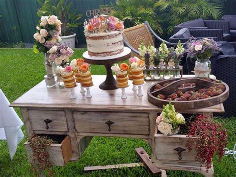 Kitchen Tea Theme Ideas by Rustic Kitchen Tea Bridal Shower Bridal Shower Ideas