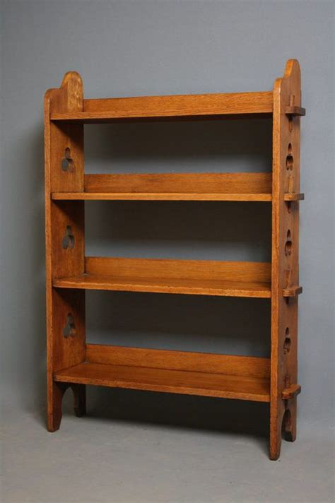 Arts And Crafts Bookcase by Arts And Crafts Bookshelves 245889 Sellingantiques Co Uk