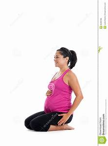 pregnant woman sitting royalty free stock image image With sitting on the floor during pregnancy