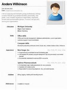 resume for office work in school sle resume for a sle resumes