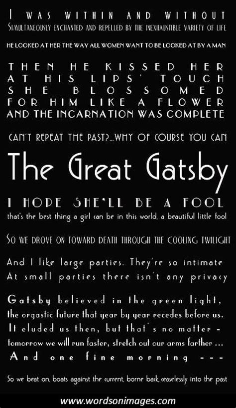 the great gatsby nick quotes