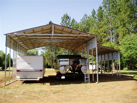 Cheap Carport Covers by Metal Rv Storage And Carports