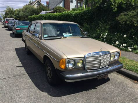 Among those is the 300d. 1983 Mercedes Benz 300D Turbo Diesel - Classic