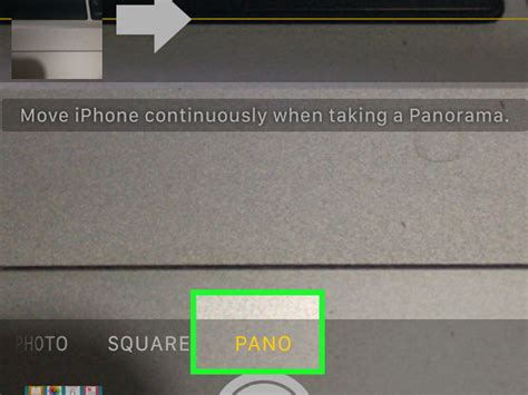 how to take a panorama on iphone how to get panorama on iphone 4 with pictures wikihow