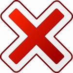 Cancel Clip Icon Clipart Svg Clker Vector